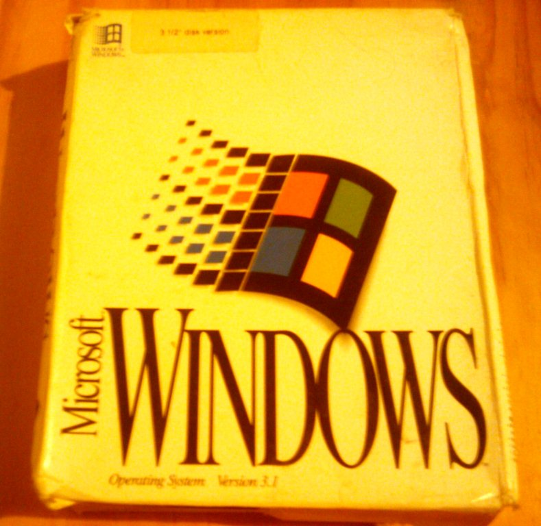 Windows 3.1 Product Box