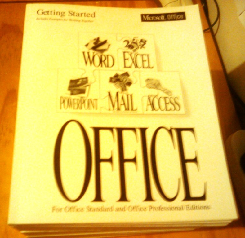 Microsoft Office 4.3 User Manuals